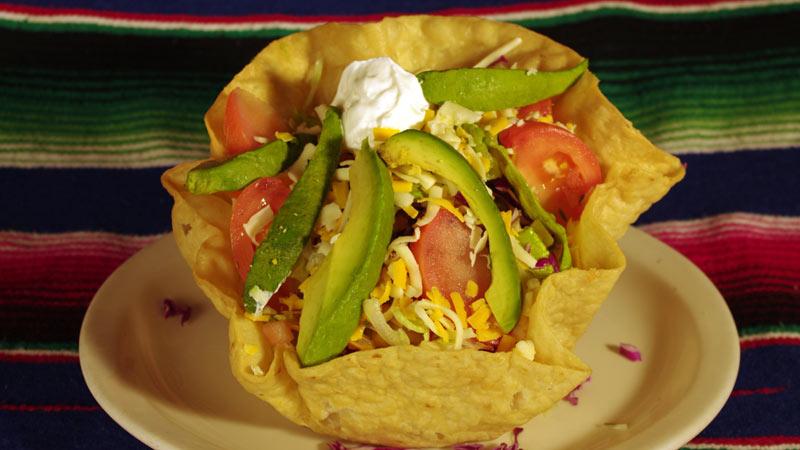 Tostada Grande Salad